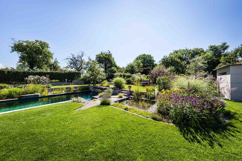Garten galerie grimm garten schweiz for Gartengestaltung um den pool